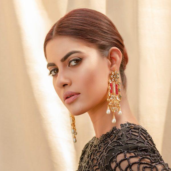 Fanas Gauhar Ara Earrings Askari Women Jewellery Gold earrings