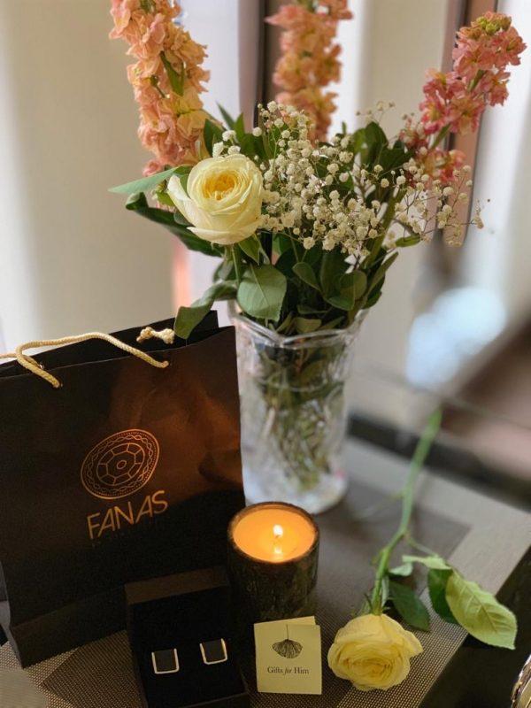 Fanas jewellery Men Gift Bundle for men and Women Gold plating Fashion Pakistan Lahore