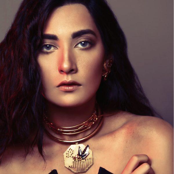 Fanas Jewellery Eve's Garden Choker Voyage Women Jewellery Gold Plated Pakistan Lahore fine jewellery