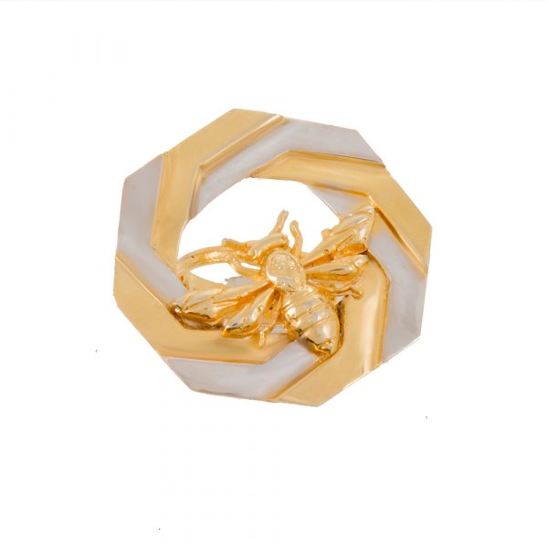 Fanas jewellery Gold Plated Beetle Ring for Women Gold plating Fashion Pakistan Lahore